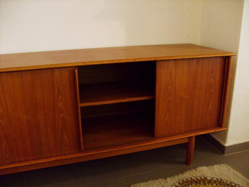 ruempelstilzchen 60er jahre sideboard teakholz skandinavien. Black Bedroom Furniture Sets. Home Design Ideas