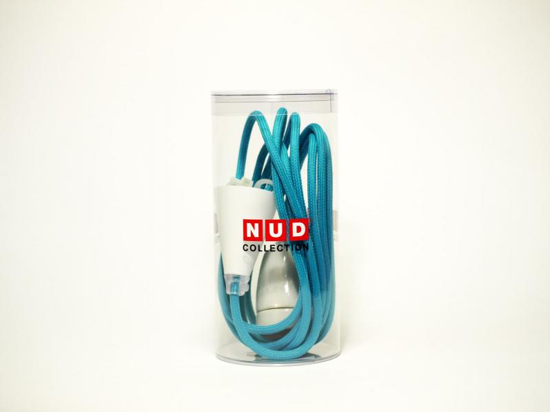 NUD Classic | Kabel und Fassung | turquoise