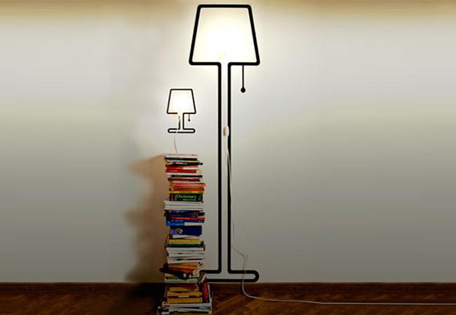 Ruempelstilzchen  tiny  kleine Vinyl Stehlampe  Alice Rosignoli