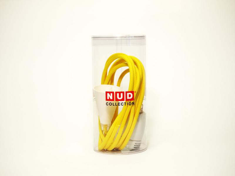 NUD Classic | empire yellow | Kabel und Fassung