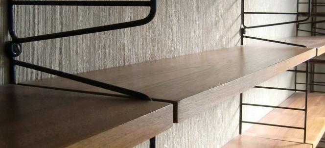 ruempelstilzchen boden 30 x 78cm string regal system nisse strinning. Black Bedroom Furniture Sets. Home Design Ideas