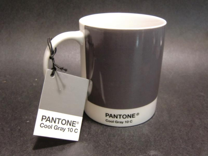 Pantone Mug | Kaffeebecher für Grafiknerds | Cool Gray 10 C