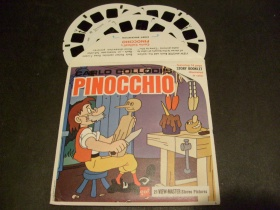 View-Master | Stereo-Scheibe | Pinocchio