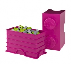 Lego Storage | 2er in Pink