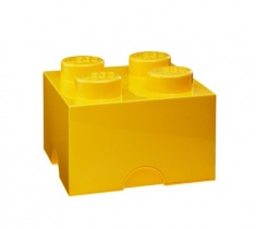 Lego Storage | 4er in Gelb