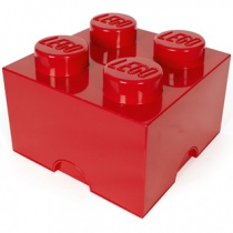 Lego Storage | 4er in Rot