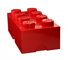 Lego Storage | 8er in Rot