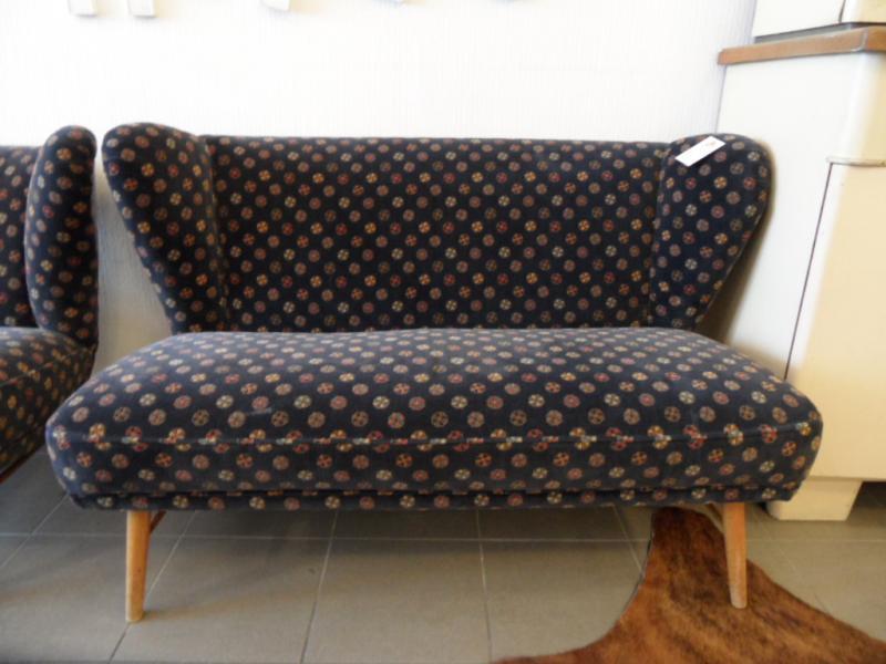 ruempelstilzchen 50er jahre sofa 2 sitzer rockabilly. Black Bedroom Furniture Sets. Home Design Ideas