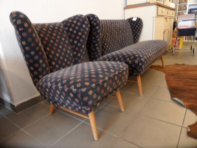 ruempelstilzchen 50er jahre sofa 2 sitzer rockabilly