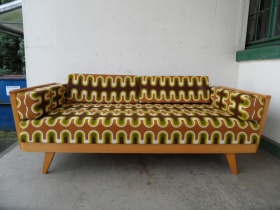 70er Jahre Daybed | Sofa-Schlafcouch