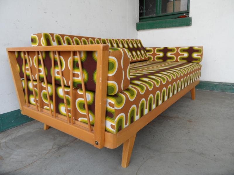 Ruempelstilzchen 70er jahre daybed sofa schlafcouch for Couch 70er jahre