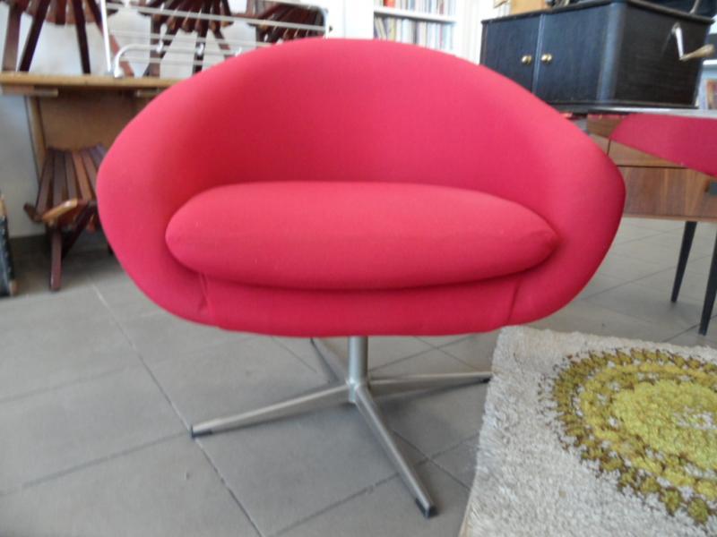 ruempelstilzchen sessel 70er jahre drehfu. Black Bedroom Furniture Sets. Home Design Ideas