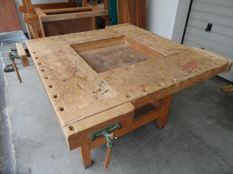 Alte Werkbank ruempelstilzchen alte tischlerwerkbank aussergewöhnlicher tisch