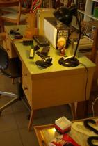 ruempelstilzchen 50er jahre schreibtisch designklassiker. Black Bedroom Furniture Sets. Home Design Ideas