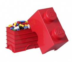 Lego Storage | 2er in Rot