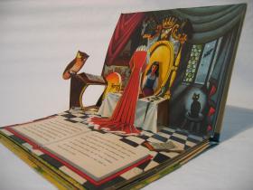 ruempelstilzchen pop up bilderbuch schneewittchen. Black Bedroom Furniture Sets. Home Design Ideas