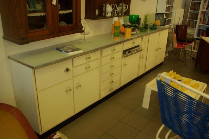 Ruempelstilzchen | sehr stylische 50er Jahre Küchenzeile - Sideboard