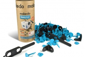 Makedo | Kit for three | 165 Teile