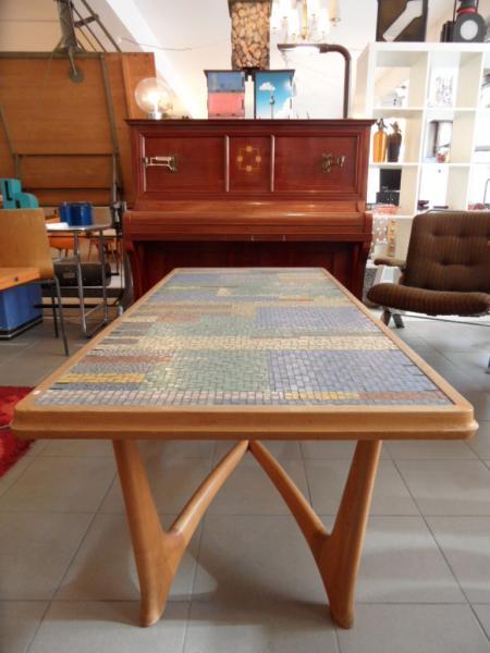 Ruempelstilzchen midcentury couchtisch mosaik 60er for Couchtisch 60er