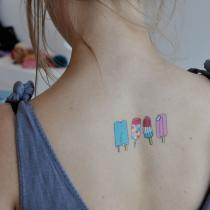 Tattly | Temporary Tattoos | Popsicles