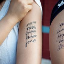 Tattly | Temporary Tattoos | James