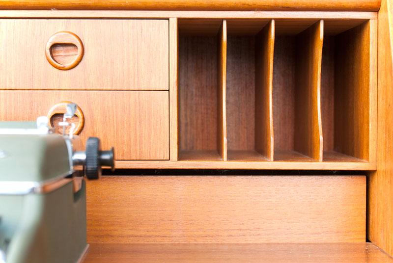 Ruempelstilzchen sekret r teak danish design 60er for Danish design mobel 60er