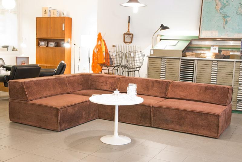 ruempelstilzchen schon wieder ein cor trio modulsofa 70er. Black Bedroom Furniture Sets. Home Design Ideas
