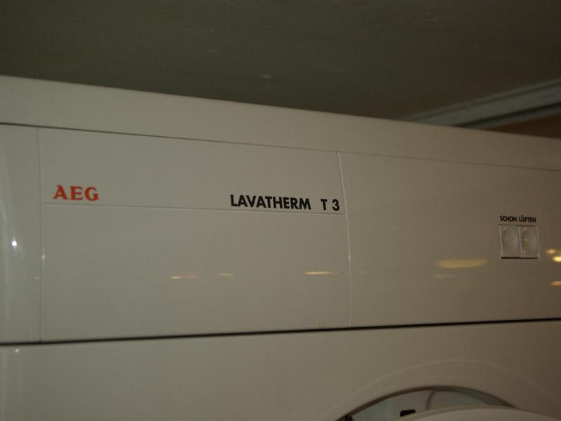 Aeg lavatherm t av ablufttrockner kg weiß