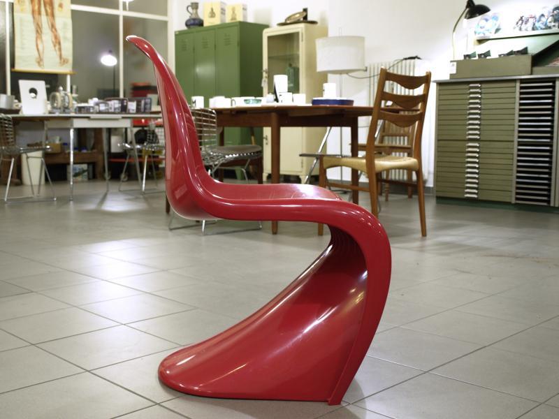 ruempelstilzchen panton chair rot fehlbaum f r miller. Black Bedroom Furniture Sets. Home Design Ideas