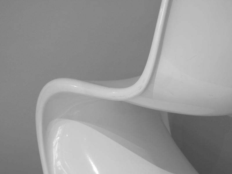 Panton Chair |  Baydur | weiß