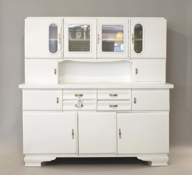 ruempelstilzchen k chenbuffet 50er wei. Black Bedroom Furniture Sets. Home Design Ideas