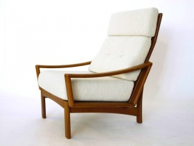Grete Jalk | Highback Easy Chair  | 60er