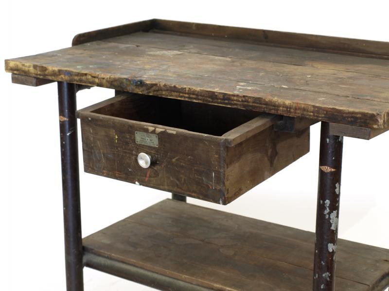 ruempelstilzchen werkbank tisch industrial. Black Bedroom Furniture Sets. Home Design Ideas