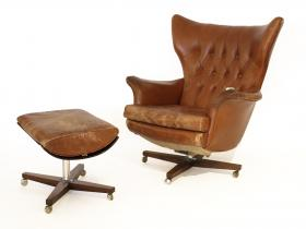 G-Plan The Sixty-Two | Blofeld Chair | Leder & Palisander