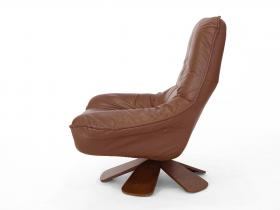 Loungechair | Fußhocker | 70er