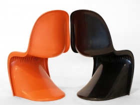 Panton Chair | Herman Miller | schwarz