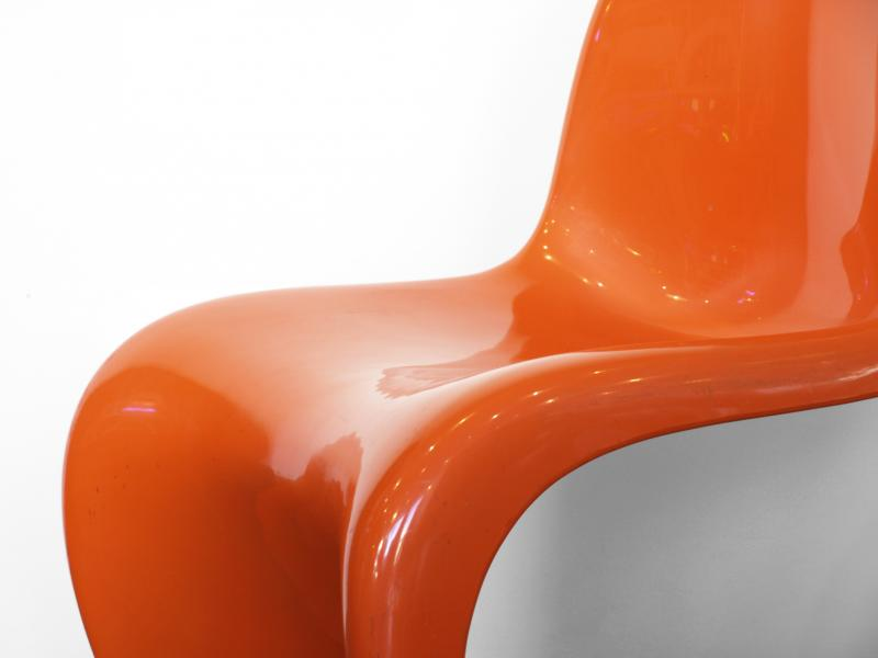 Panton Chair | Herman Miller | orange