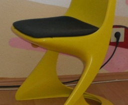 Casala Plastic Chair / Gelb