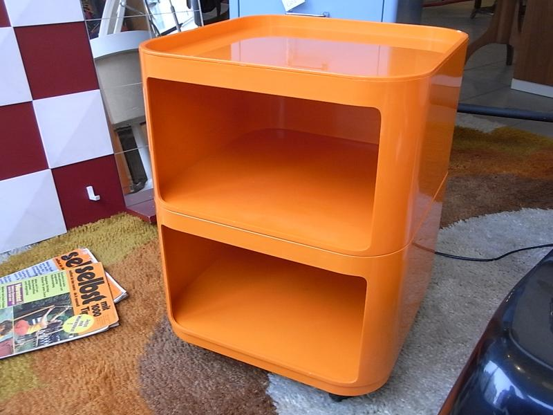 ruempelstilzchen kartell container a c ferrieri 70er. Black Bedroom Furniture Sets. Home Design Ideas