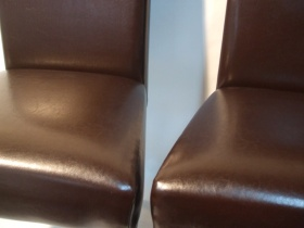 4 wooden chairs effezeta italien modell mimosa. Black Bedroom Furniture Sets. Home Design Ideas